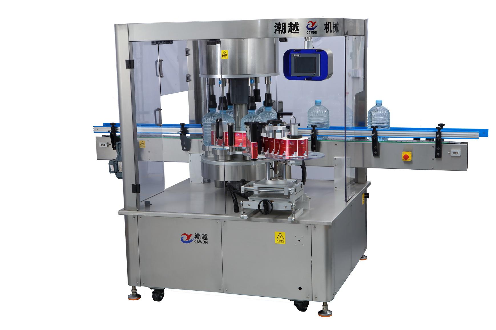 CY-GDP6 一次性桶装水高速贴标机